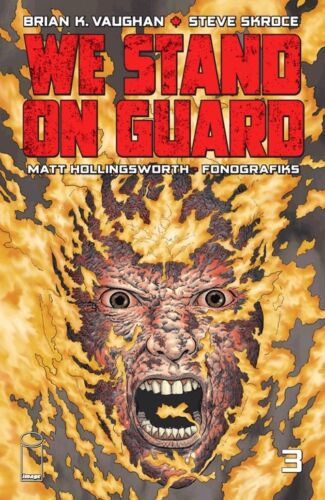 WE STAND ON GUARD #3 1st Printing Image Comics NM Vault 35