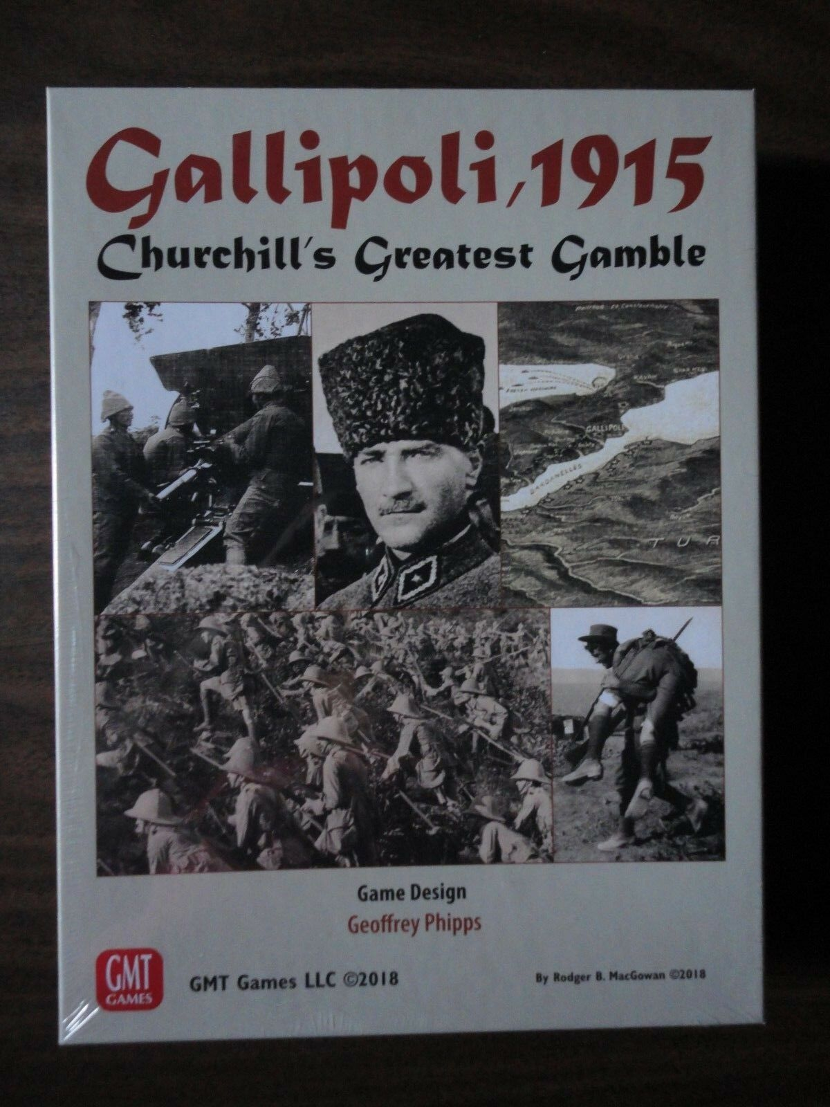 Gallipoli, 1915 by GMT Games NEW 2018 mint in shrink