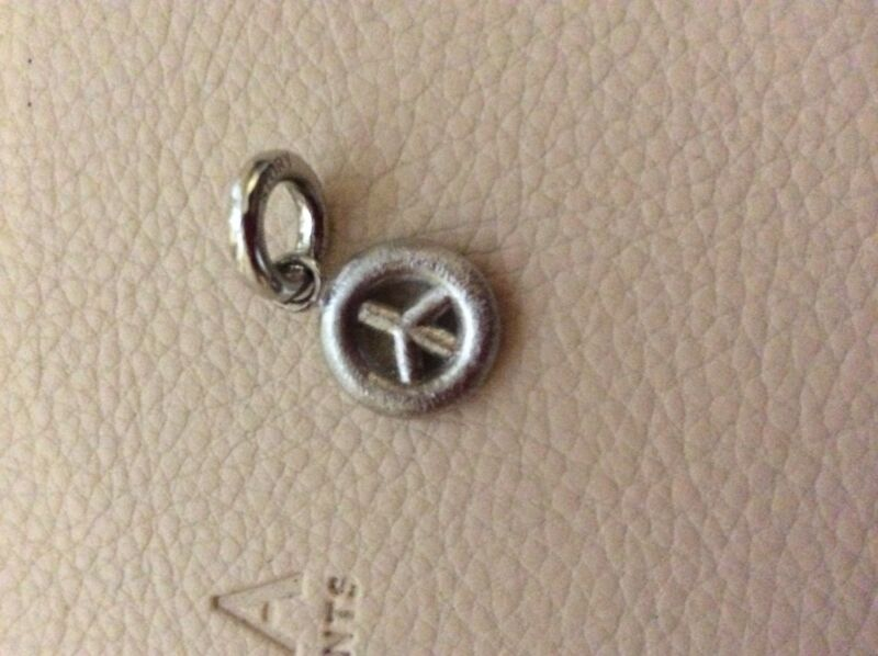 Story Sterling Silver Peace Charm