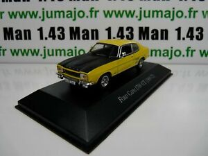 FORD CAPRI I 1700 GT 1969//1972 voiture 1//43 IXO allemagne collection