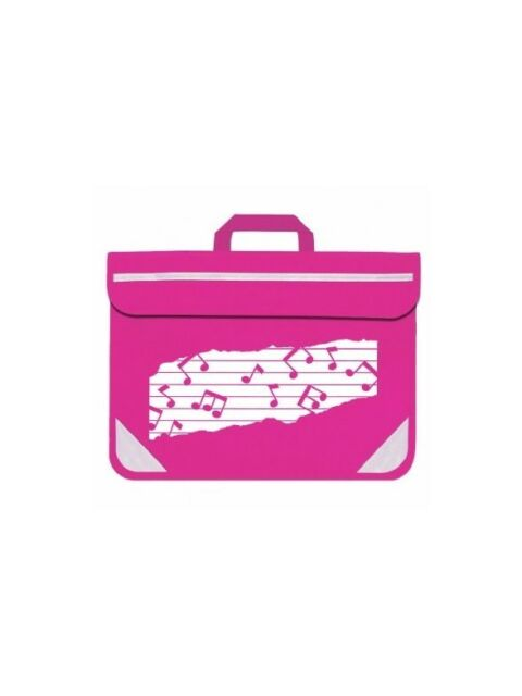 SCHOOL Music Bag Duo Music Notes Pink Musician Musical CHRISTMAS GIFT PRESENT