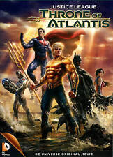 Justice League: Throne of Atlantis (DVD, 2015)