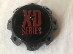 Dodge//Nissan XD796//XD797//XD798 Wheels KMC XD Matte Black 6 Lug Center Cap for