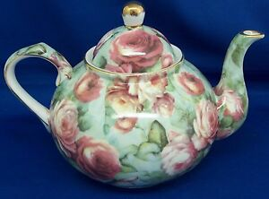 Rose-Chintz-Teapot-Holds-6-Cups