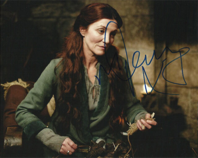Michelle Fairley Game of Thrones Autographed Signed 8x10 Photo COA