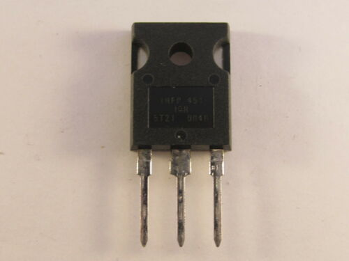 2 pièces IRFP 451 Ir-N-CANAL power MOSFET 450v 13a to3p-ae13//4009