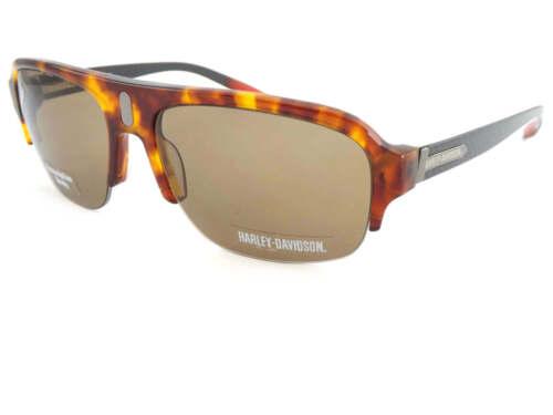 Harley Davidson Sunglasses Carbon Fiber Brown Tortoise Brown HDX858 TO