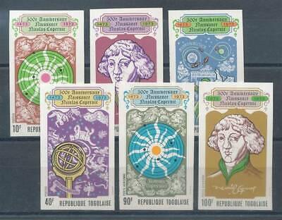Togo Nr.982-7b** Kopernikus HöChste Bequemlichkeit Raumfahrt Motive Schneidig 187277