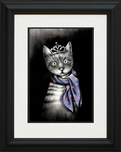 Doug-Hyde-Miss-Purrfect-Framed-Limited-Edition-Giclee