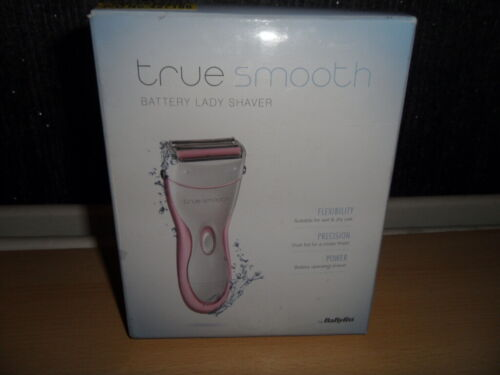 Truesmooth by BABYLISS 8771U Wet /& Dry Senza Fili ladyshaver Bianco e Rosa Un