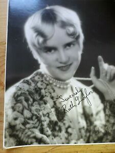 Ruth-Taylor-Autographed-B-amp-W-Photo
