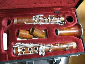 PATRICOLA-B-CLARINET-CL2-ROSEWOOD-MADE-IN-ITALY-GENUINE-FREE-SHIPPING-FROM-JAPAN