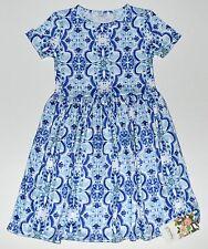 Persnickety 6 Dress Jordyn Wonderstruck Blue Medallion Girls NEW kg1