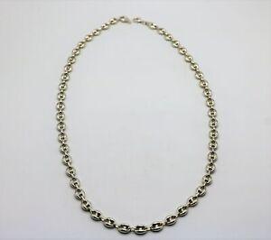 Fagioli-catena-da-925er-Argento-per-Uomo