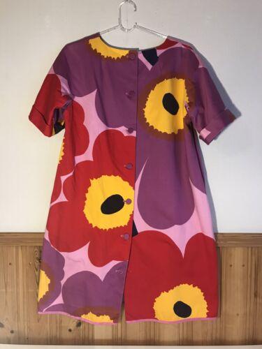 Marimekko Dress Unikko 50 years EU 38 USA 8 M Rare