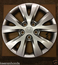 Genuine OEM Honda Civic 15 Inch 5 Lug Bolt Pattern Wheel Cover  2012