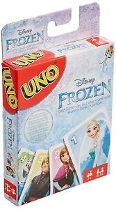 Mattel-CJM70-UNO-Disney-Frozen-Die-Eiskoenigin-Kinder-Voellig-unverfroren-Olaf-Neu