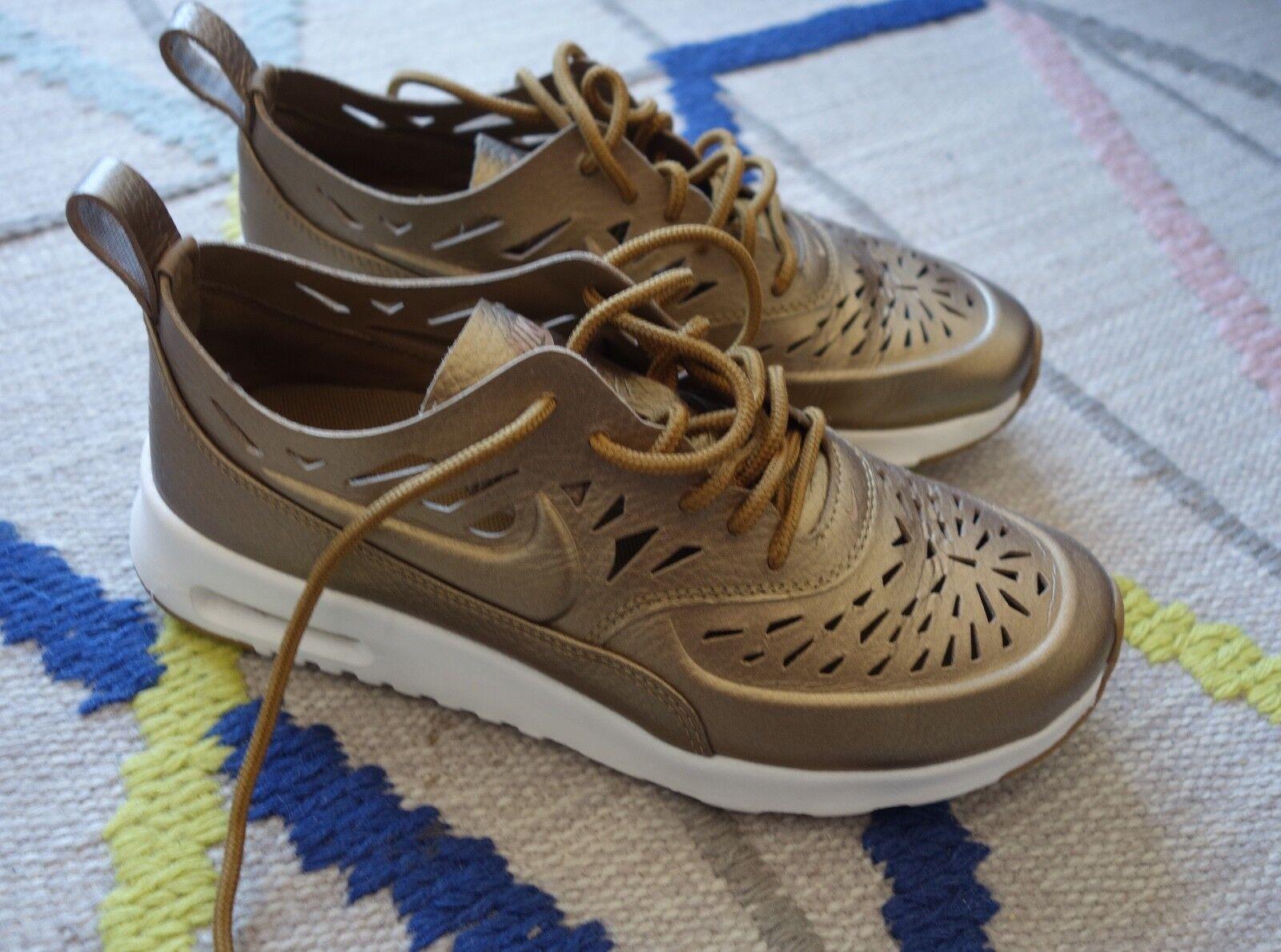 Zapatos promocionales para hombres y mujeres BASKETS NIKE AIR MAX THEA GOLD 37.5 TBE