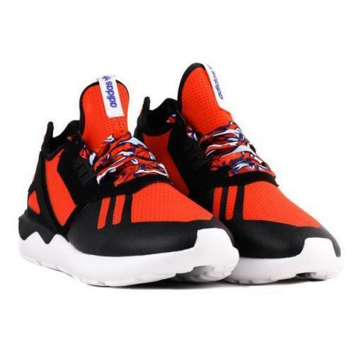 147da355a28a4 Men's Adidas Tubular Runner Running Shoes Red / Black / White Sz 10 B25952