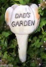 concrete plaster garden mold Dad plant spike plastic mould