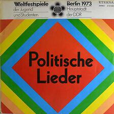 """POLITISCHE LIEDER - WELTFESTSPIELE  12""""  LP (R206)"""