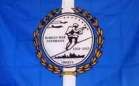 NEOPlex Economy 3' 5' Military Flag - Korean Veteran (NEOPlex) (F1038) Garden
