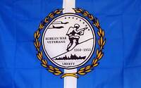 Korean Vet Flag 3' X 5' Banner