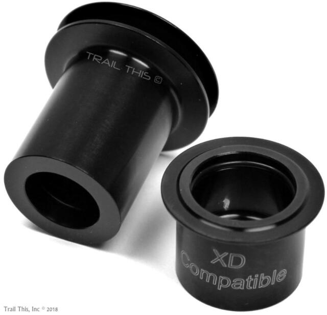 DT Swiss XD End Caps for 135mm x 12mm Thru Axle hubs fits 240 350 440