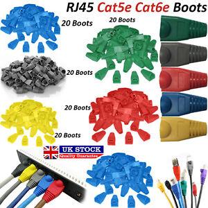 RJ45-Cat5e-Cat6-Reseau-Ethernet-Patch-100-Bottes-Plug-Cable-Connecteurs-Lot