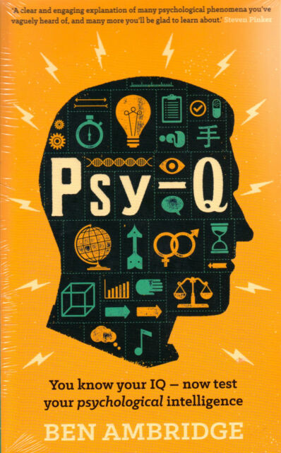 Psy-Q Know Your IQ by Ben Ambridge BRAND NEW BOOK (Paperback 2014)