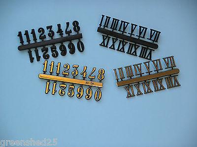 Orologio In Plastica Numeri 16mm Ad Alta-