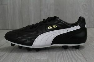 a70d45a60c48ef 29 New Mens PUMA King Top DI FG Leather Soccer Cleats Black White 7 ...