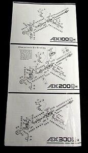 Details about Shimano AX Schematics, Spincasting Reel Parts List AX100Q,AX200Q,AX300Q on shimano parts schematics, engine schematics, electric schematics, daiwa parts schematics, wire schematics, abu garcia schematics, ambassadeur 6500 striper drag schematics, trailer schematics,