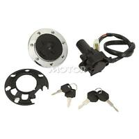 Gas Tank Cap Cover Lock Key Ignition Switch For Kawasaki Zzr400 1993-2006 1994