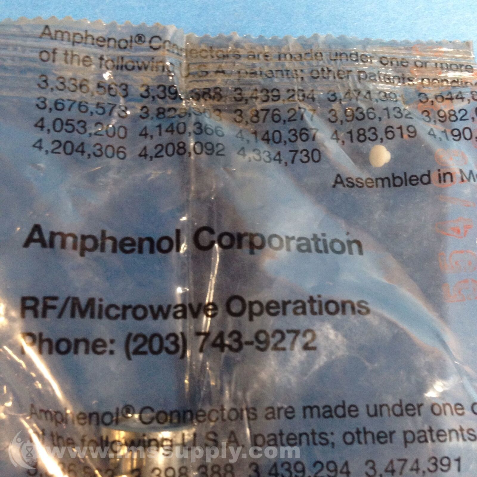 Amphenol HP Agilent 74868 Ug-30 N Female Adapter for sale online