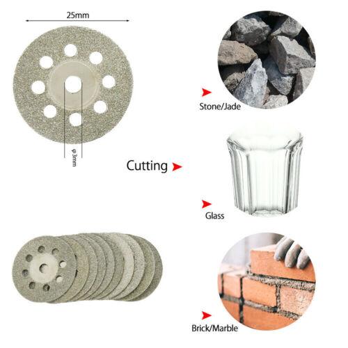 32Pcs//set Diamond Cutting Discs Wheel HSS Saw Blades Kit Drill Bit Rotary Tool