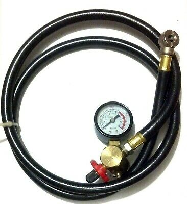 Capace Air Carry Bubble Tank Valve Chuck Gauge With Relief 125psi Regalo Ideale Per Tutte Le Occasioni