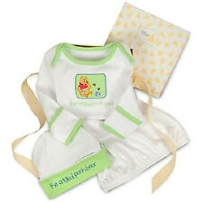 WiNNiE ThE PooH~SLEEPER GOWN+HAT~Boxed Set~Baby~Infant~3-6M~NWT~Disney Store