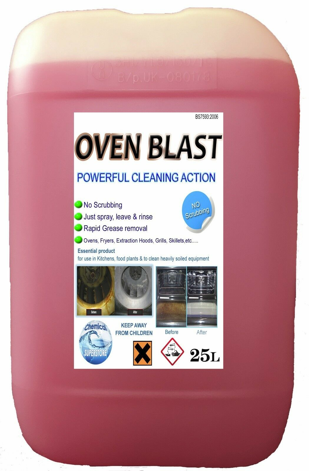 25L HEAVY DUTY OVEN Cleaner - Chemical Superstore