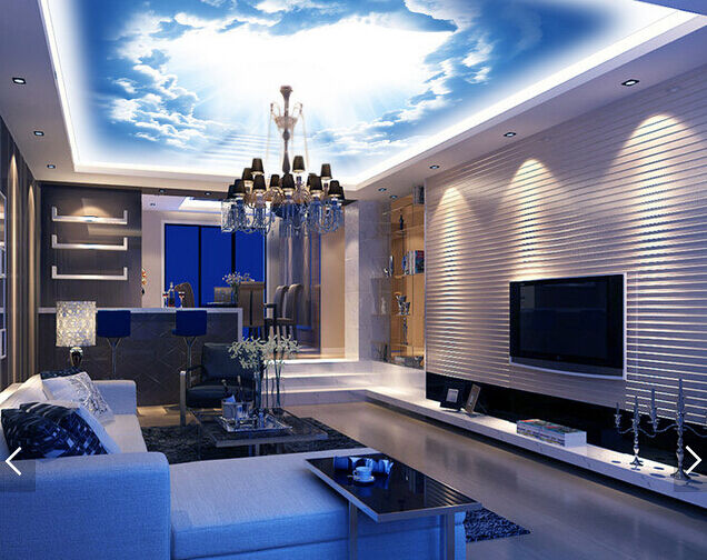 3D Dazzling Sun 732 Ceiling WallPaper Murals Wall Print Decal Deco AJ WALLPAPER