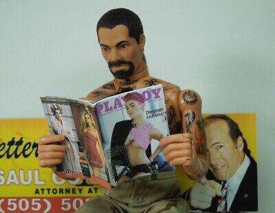 1//18 Scale Custom Playboy GI Joe Dreadnoks Zarana with interior pages