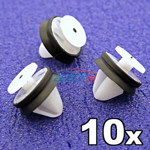 10x-Exterior-Side-Moulding-amp-Bump-Strip-Clips-Vauxhall-Movano-amp-Renault-Master