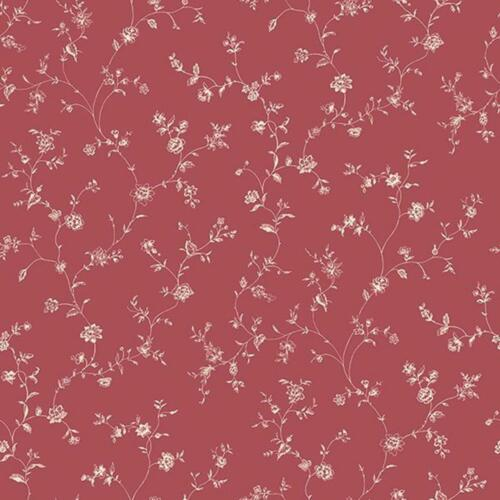 G67862 Miniatures2 Floral Trail Red White Galerie Wallpaper