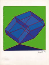 """litografia Achille Perilli """"Picche"""" / """"Spades"""""""