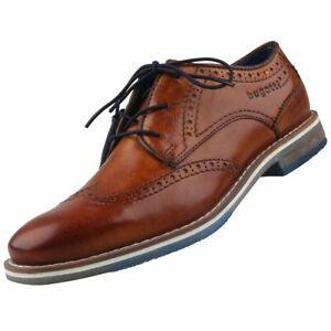 Details zu Neu BUGATTI Herrenschuhe Schnürschuhe Halbschuhe Lederschuhe Business Schuhe