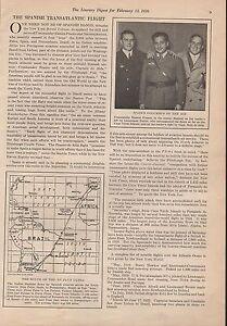 Details About Ramon Franco Spain S Columbus Of The Air 1926 Spanish Transatlantic Flight