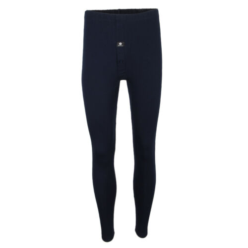 Men Plain Soft Thermal Underwear Pants Long Johns Leggings Bottoms Winter