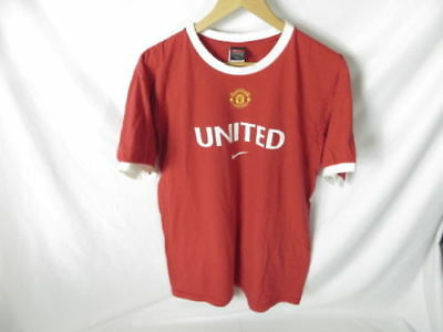 buy online d7d99 550f9 Manchester United FC #10 Van Nistelrooy 2004 Football Jersey Shirt NIKE  size Med | eBay