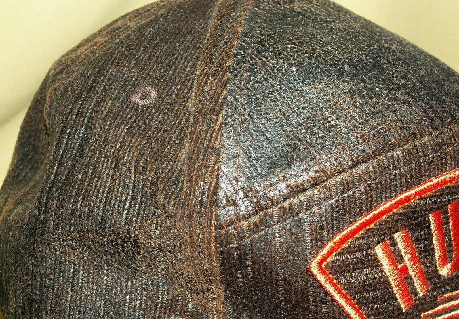 new concept a66d0 c7826 sweden 055162 hurley brown hat brown hurley orange patch summer 2011 flexfit  yupoong cotton baseball cap