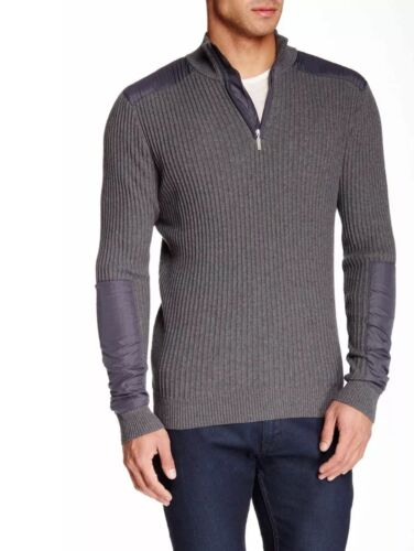 Pull Zip Hommes Hommes Pull Demi 2xl bf7Y6vgy